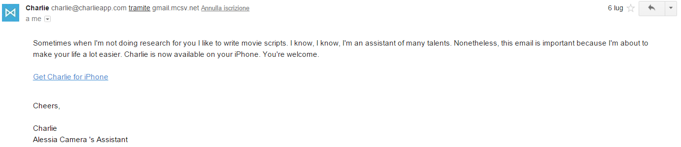 charlie-personal-assistant-hilarius-email