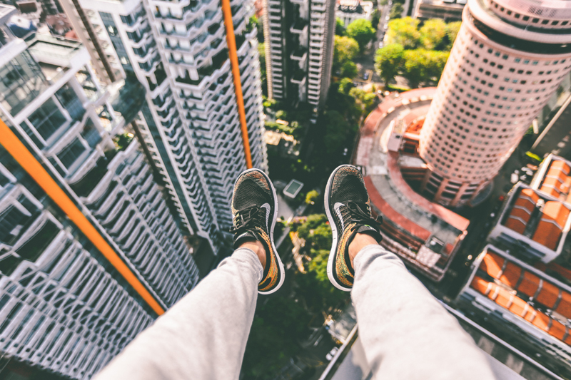 step out from your comfort zone london startup